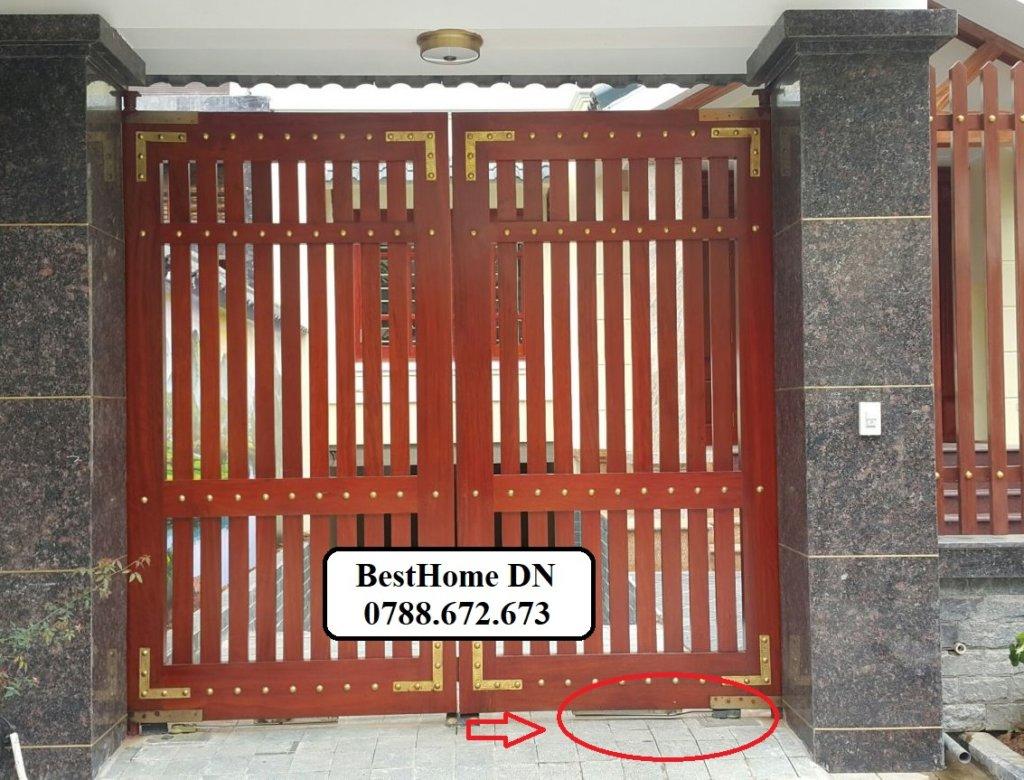 cổng tự động tại đà nẵng